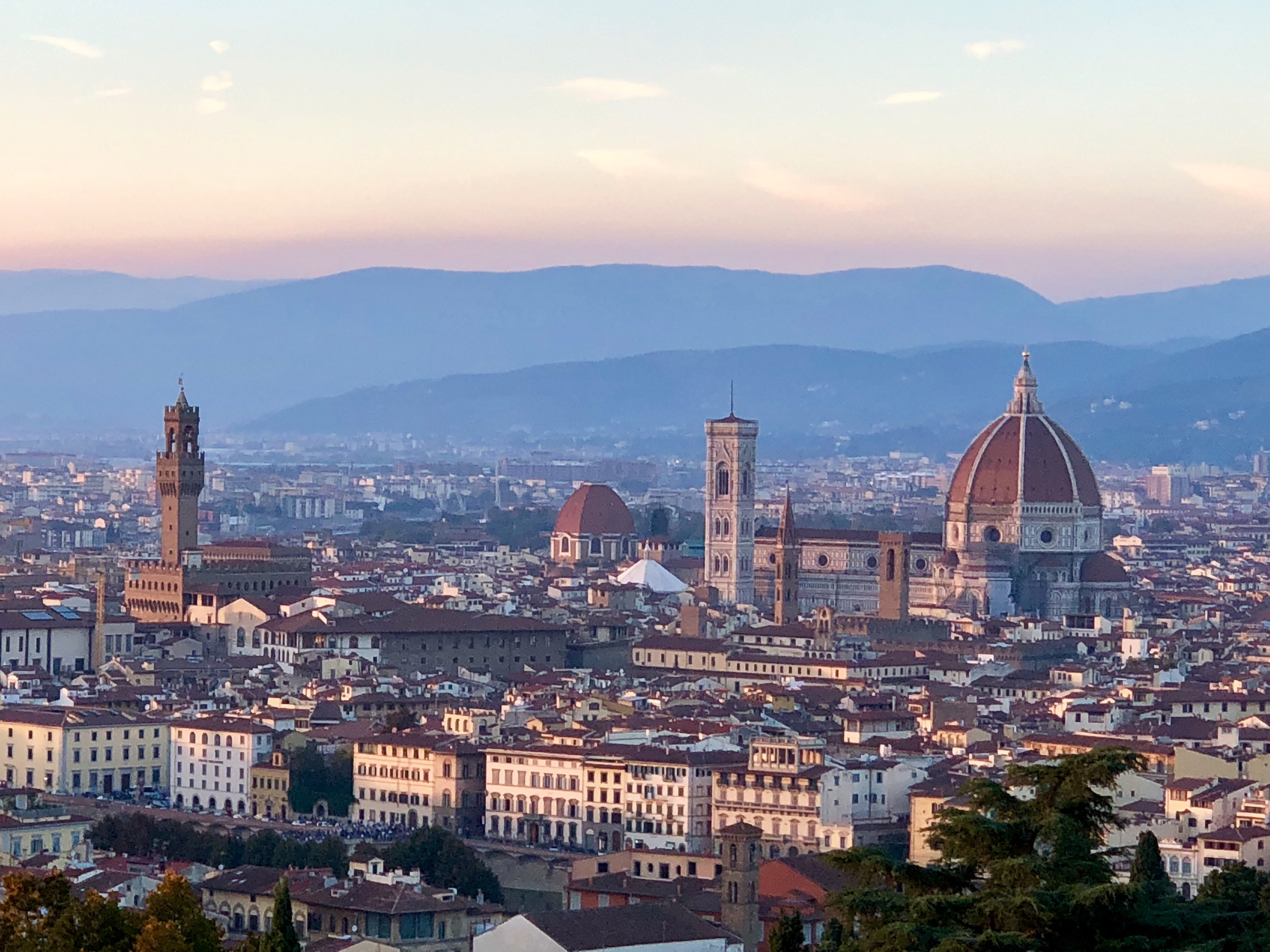 Florence, Italy October 2018 - photo by retreat guest Renee Wills