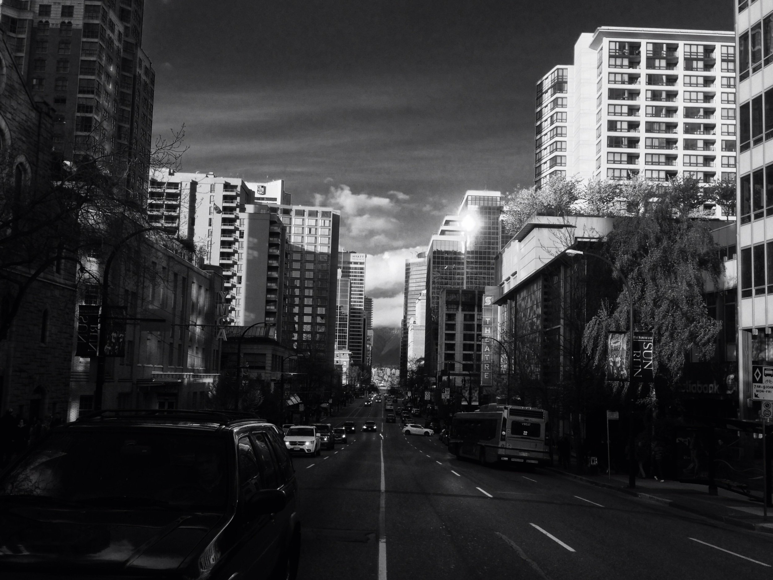 Burrard Street, Vancouver, BC