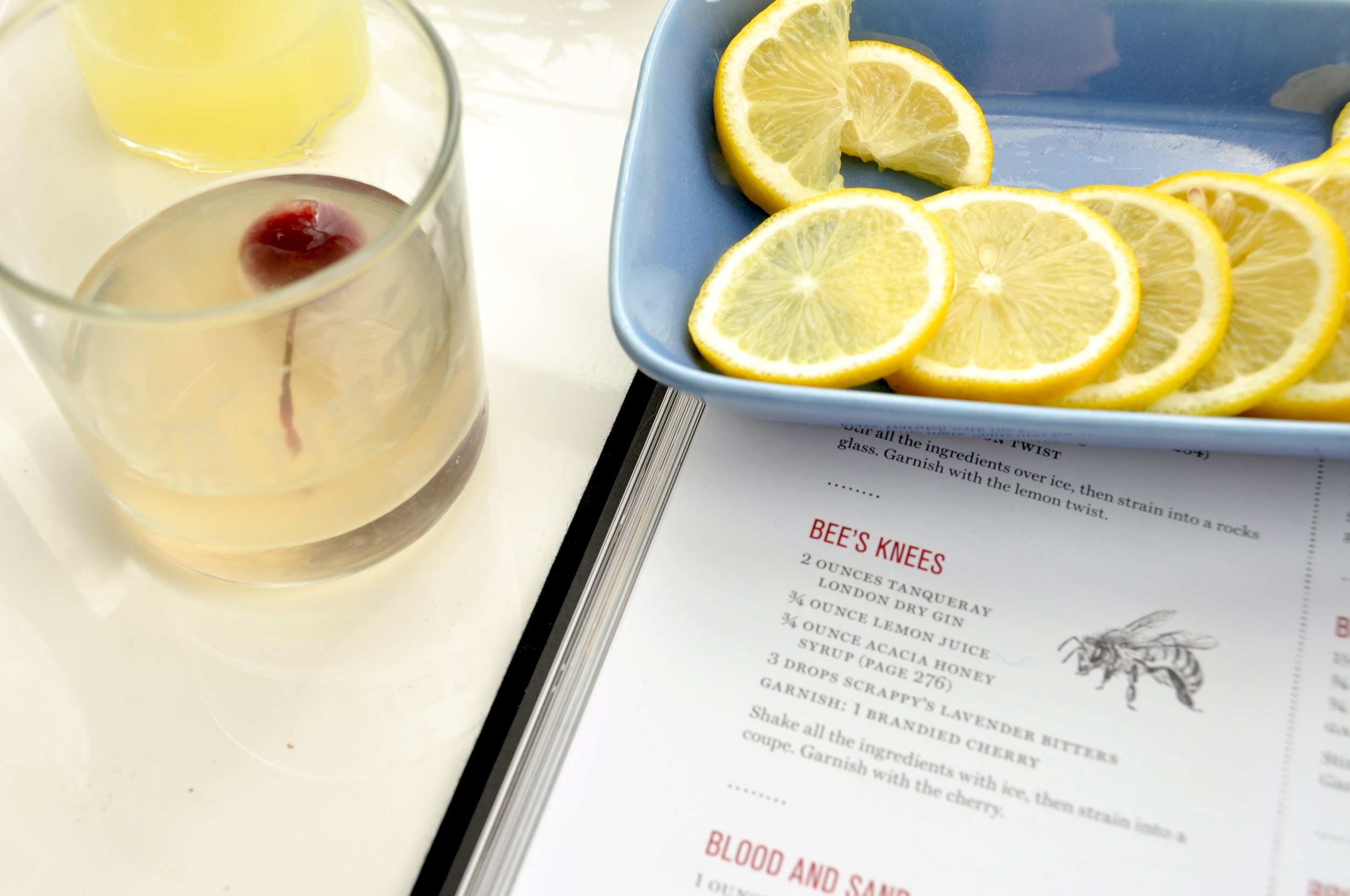 BEE'S KNEES DRINK RECIPE AUSTIN TEXAS BARWARE