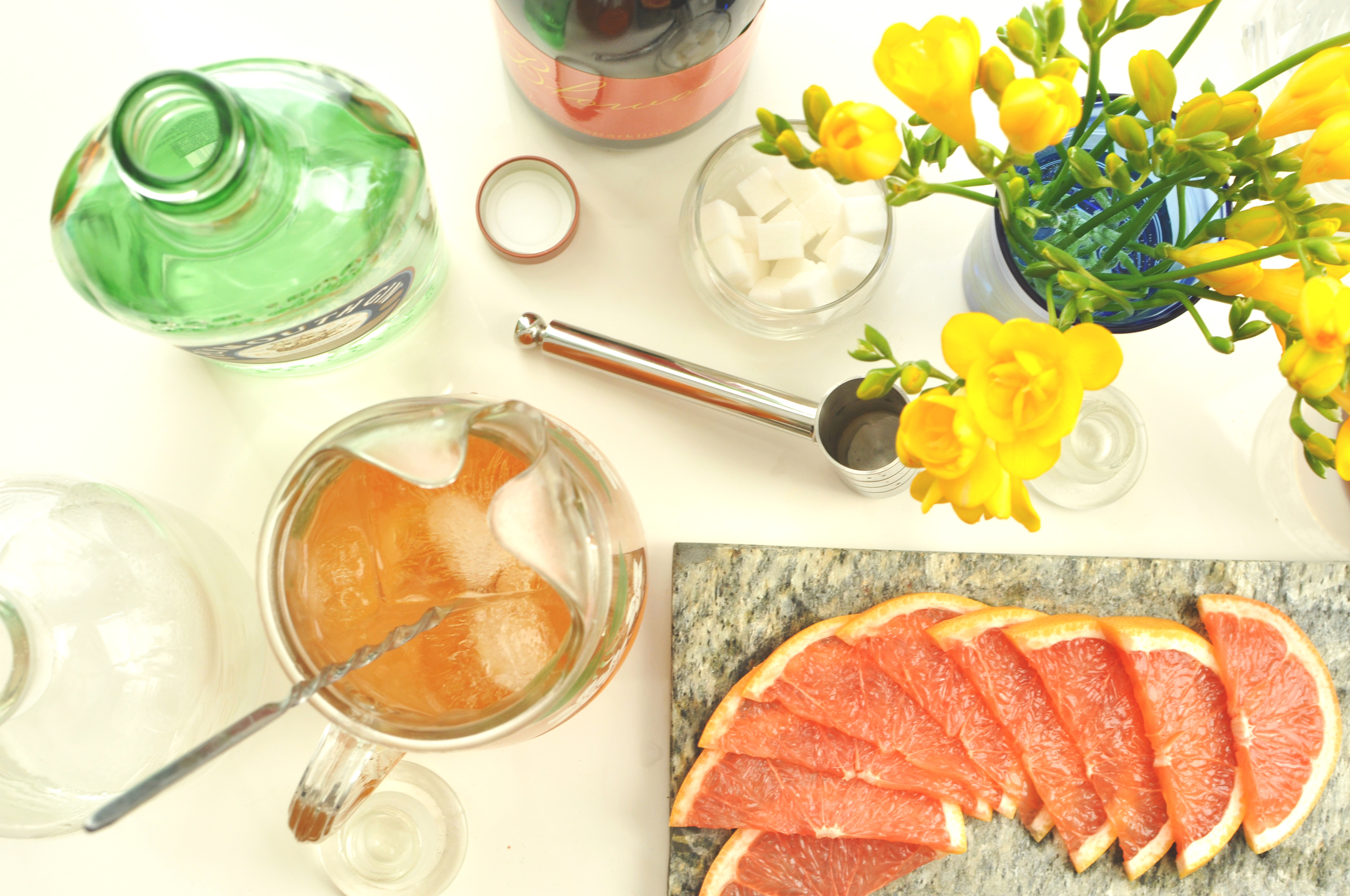 Mother's Day Brunch Recipe Spring Punch Bowl Gifts for Mom