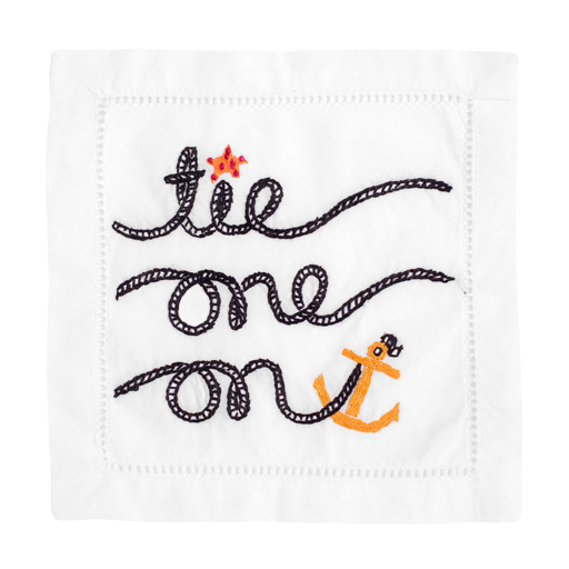 Tie One On Napkins by August Morgan