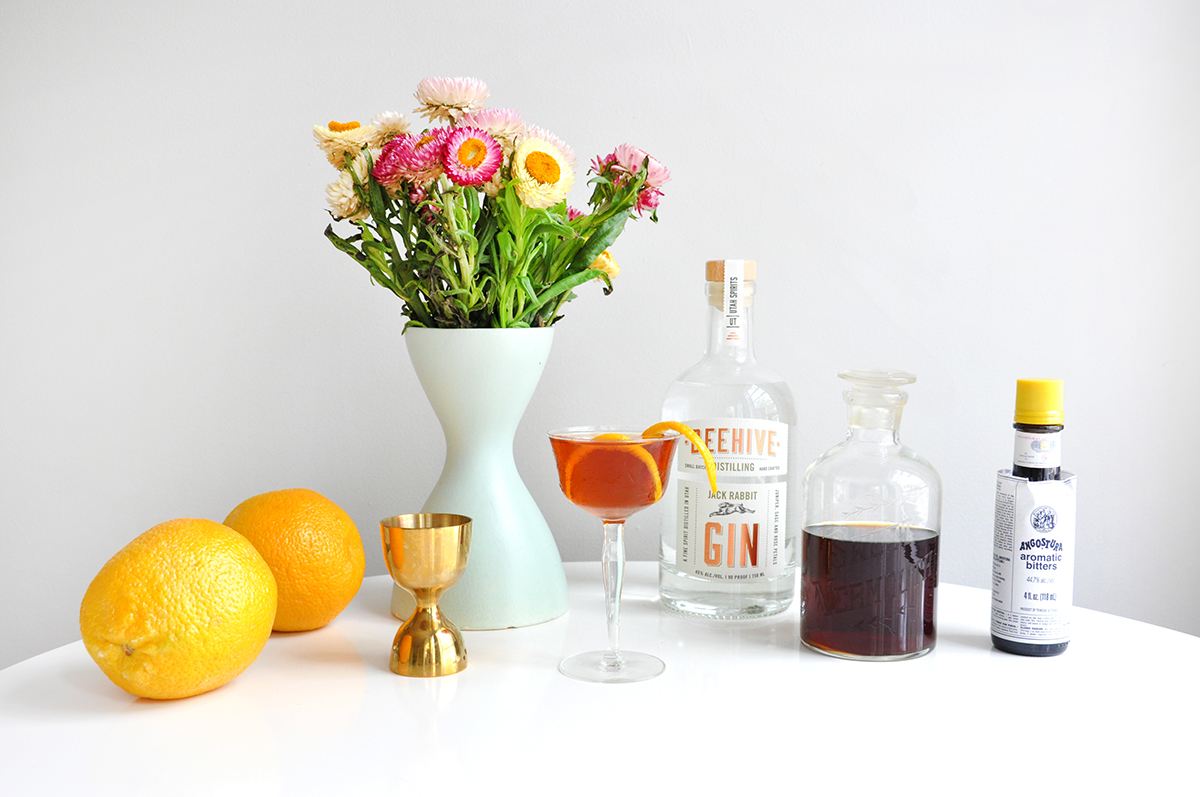 Love & Victory Gin & It Cocktail Recipe
