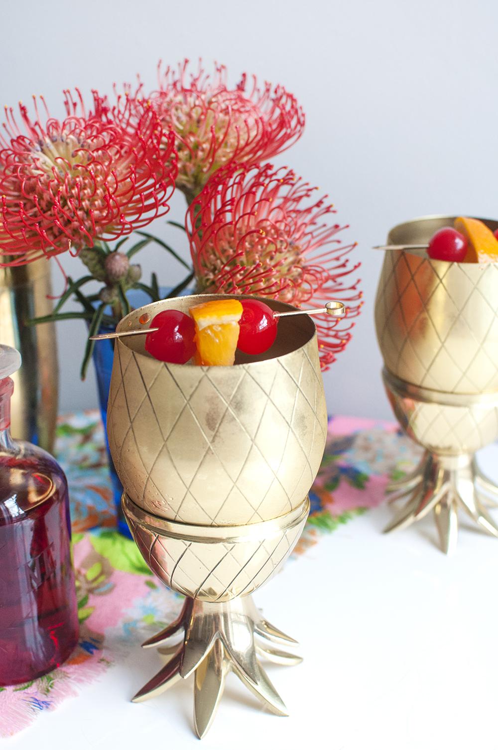 Tiki Drinks and the Pinapple Tumbler