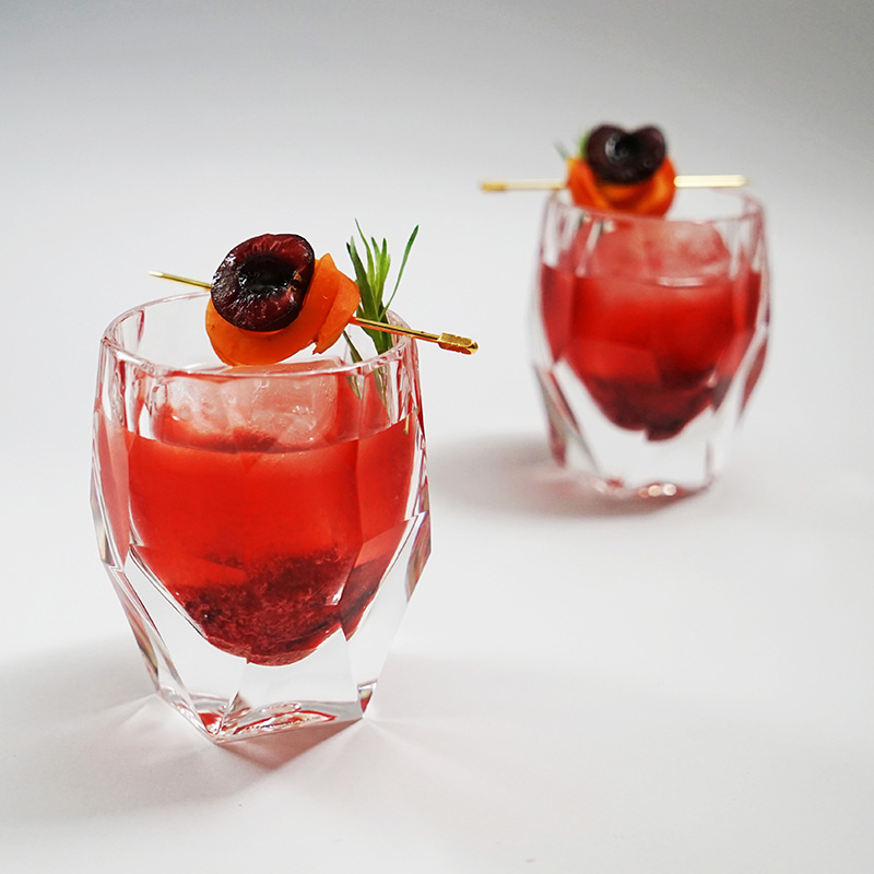 Cherry Vodka Old Fashioned