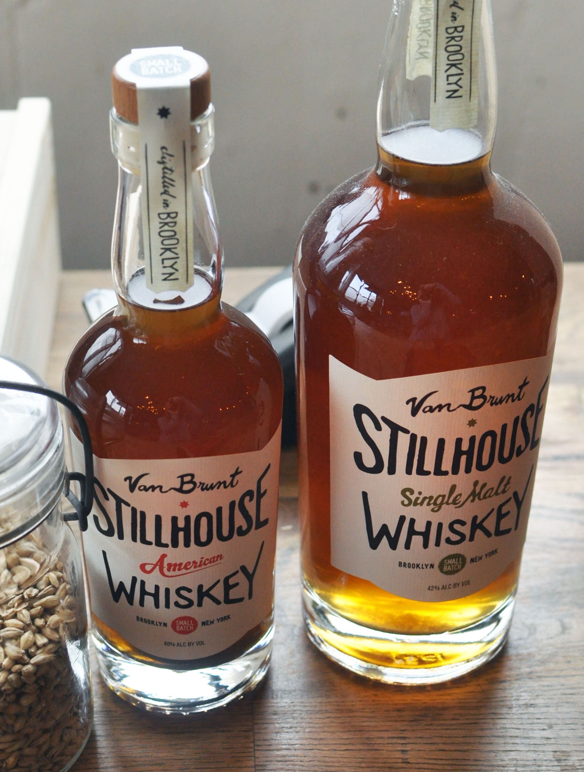 Van Brunt Stillhouse American and Single Malt Whiskies
