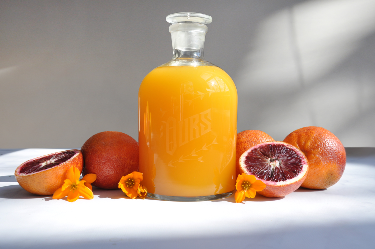 Blood Orange Limoncello - Orangecello Recipe