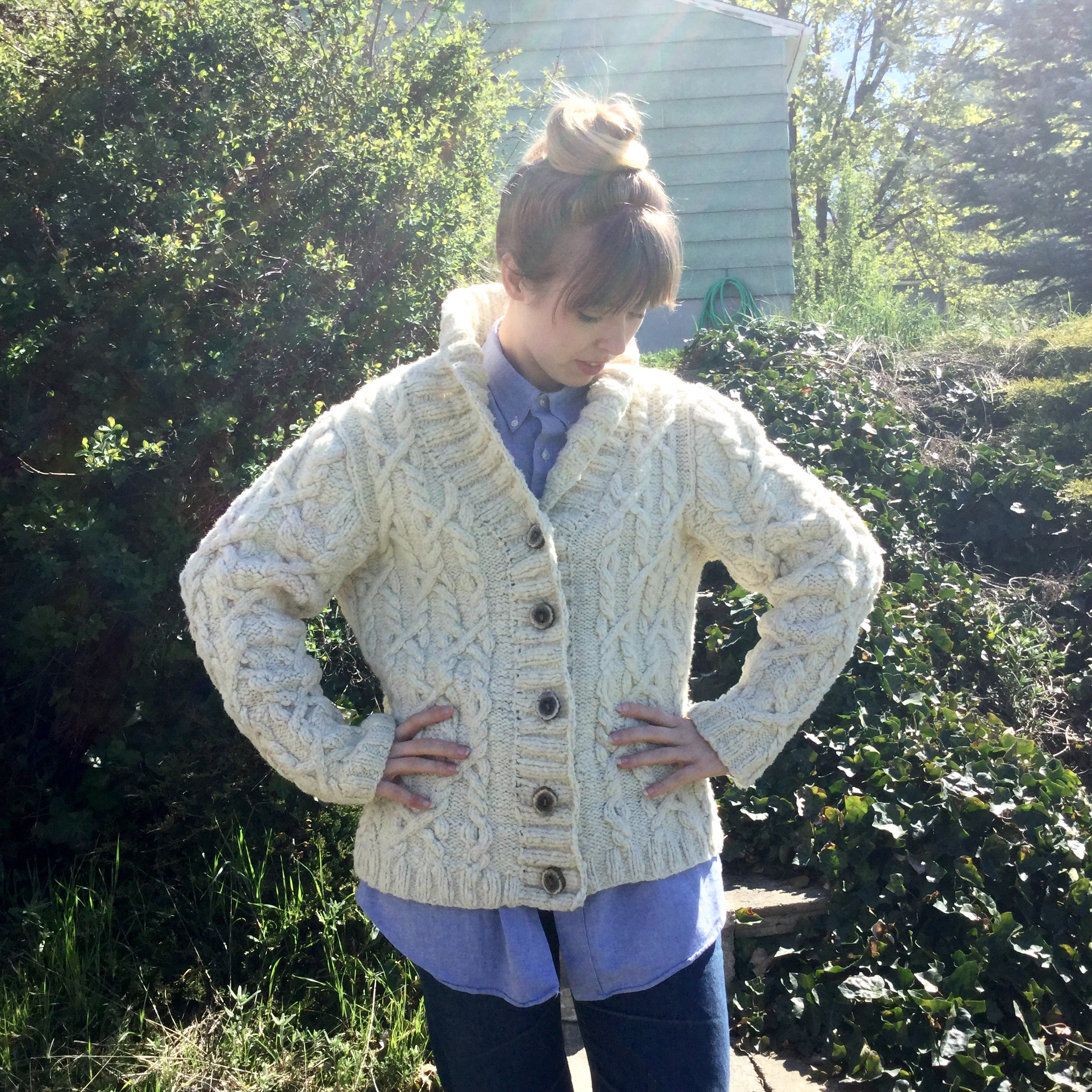 Snoqualmie Cardigan : better look at my sleeve issue