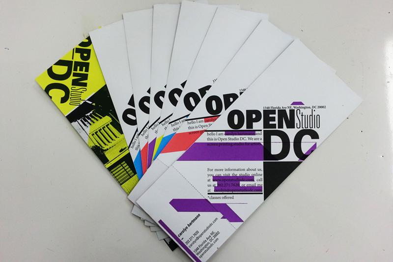 Brochure / Business Card comboforOSDC