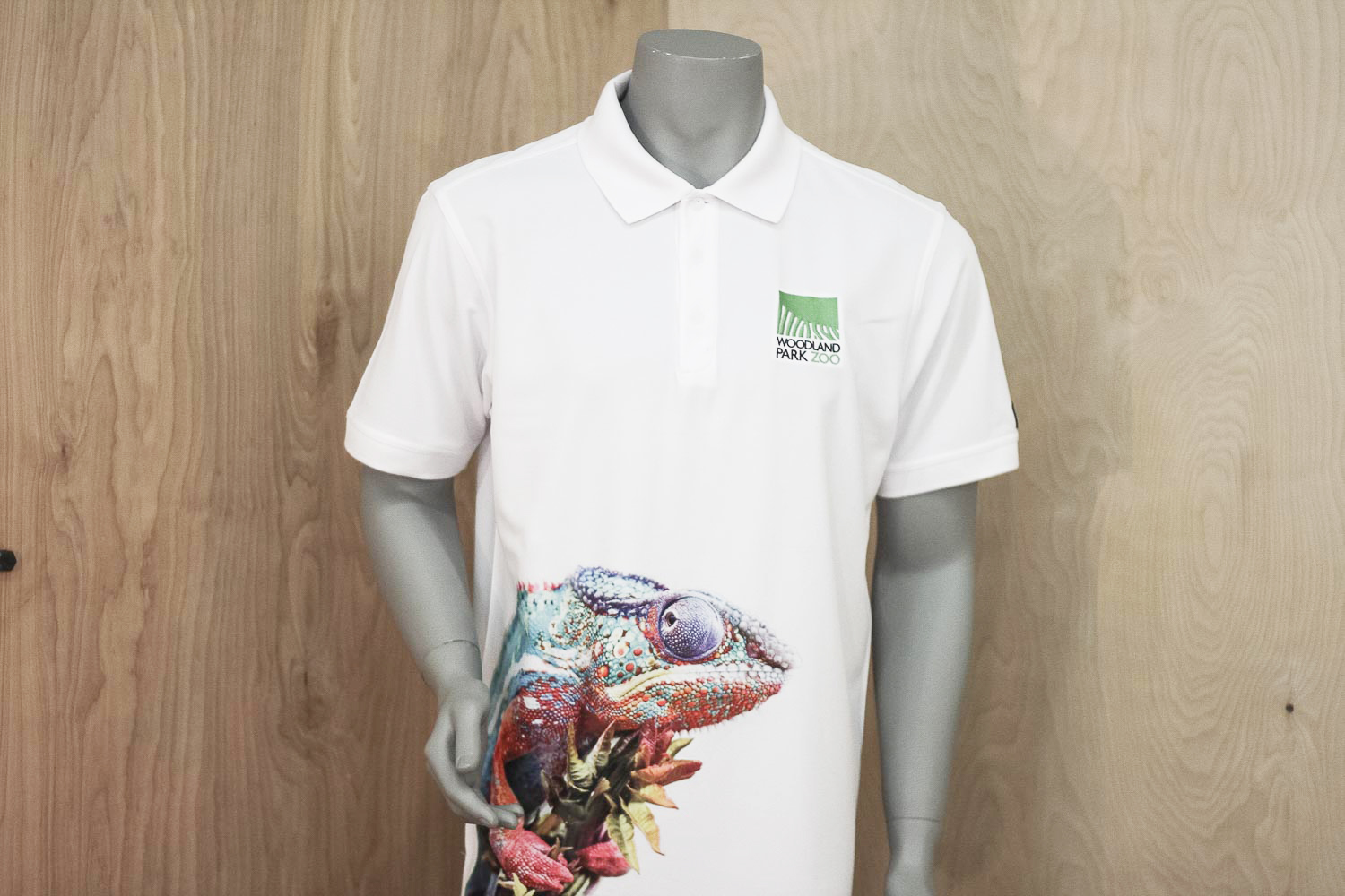 Left Chest Embroidery and Dye sublimation Polo shirt