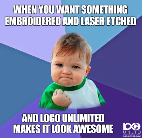 SuccessKid_Awesome_logounltd_laser_etching_embroidery_screen_printing_apparel_uniform_custom_tshirts_kirkland_bellevue_seattle_redmond_woodinville_branded_merchandise_promotional_products_logo_unltd_ tshirts_design_custo.JPEG