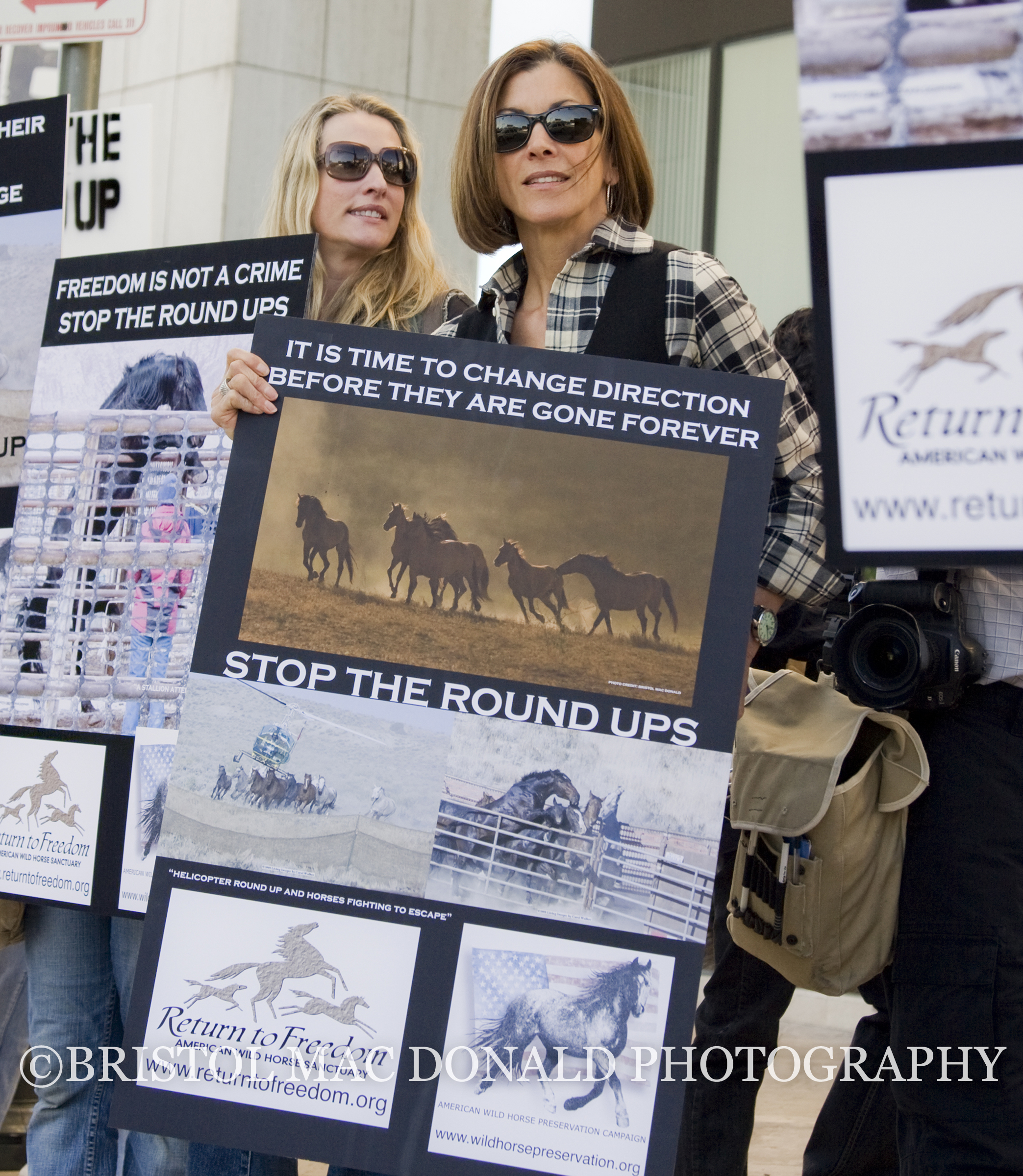 Los Angeles Wild Horse Rally, Westwood 2009