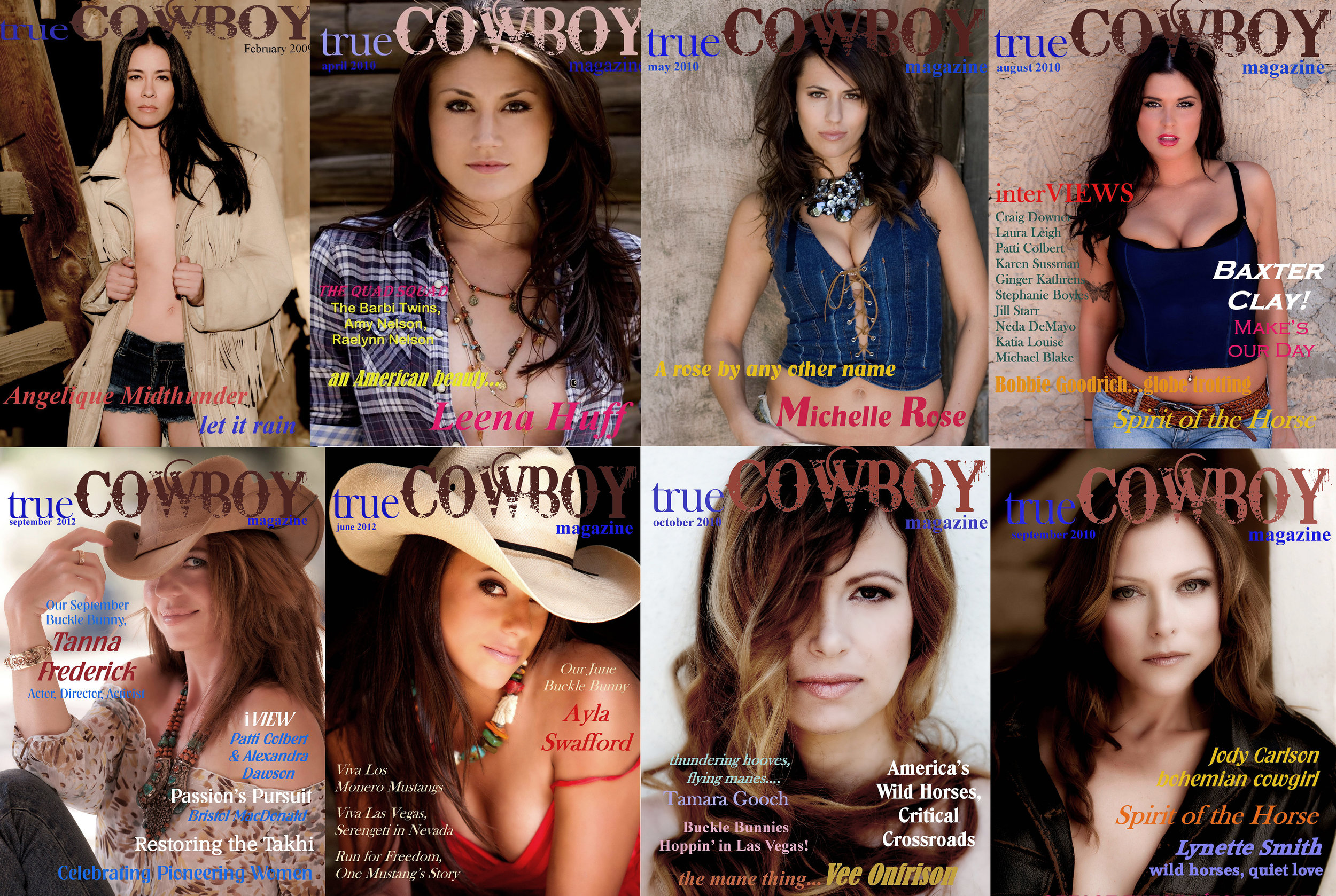 True Cowboy Magazine Cover Shots by Bristol