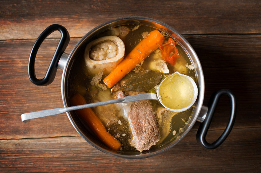 basic bone broth recipe