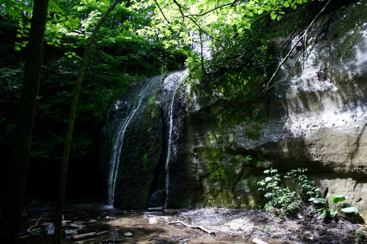 Waterfall,Governor Dodge State Park