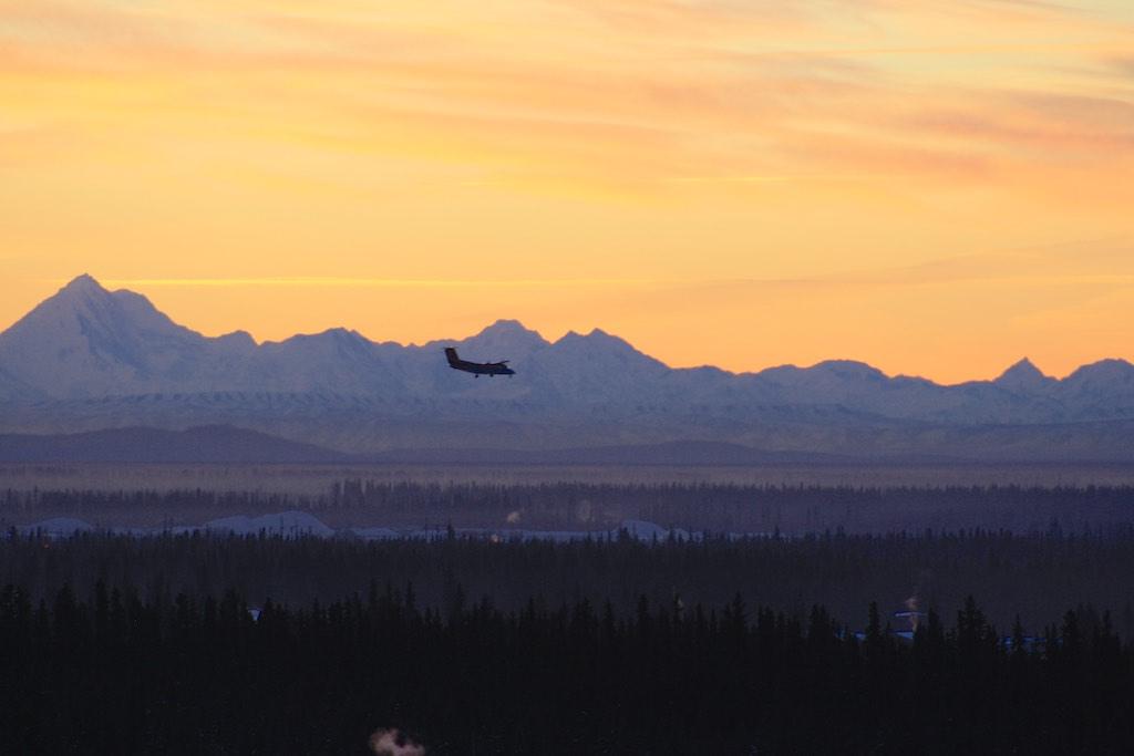 Utsikt från Universitetet, Alaska