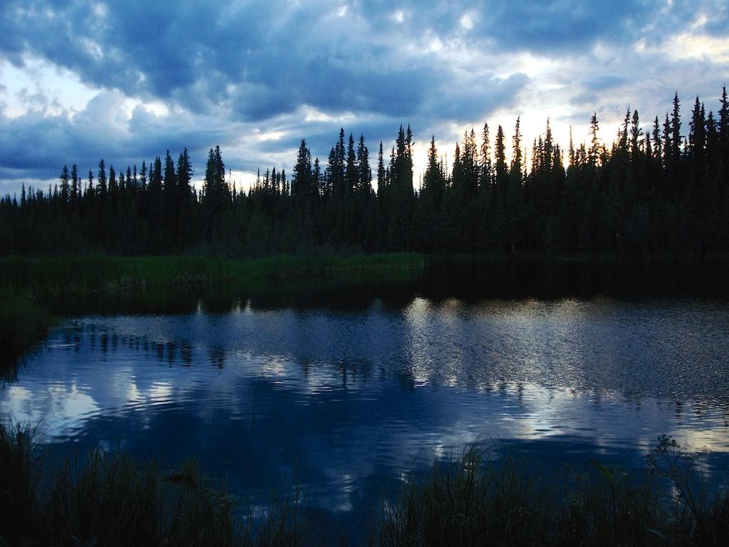 Ballaine lake, Alaska