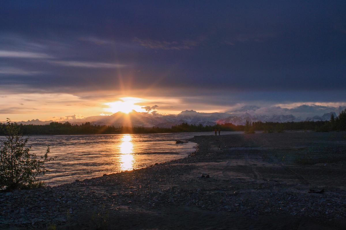 Sunset in Talkeetna, AK