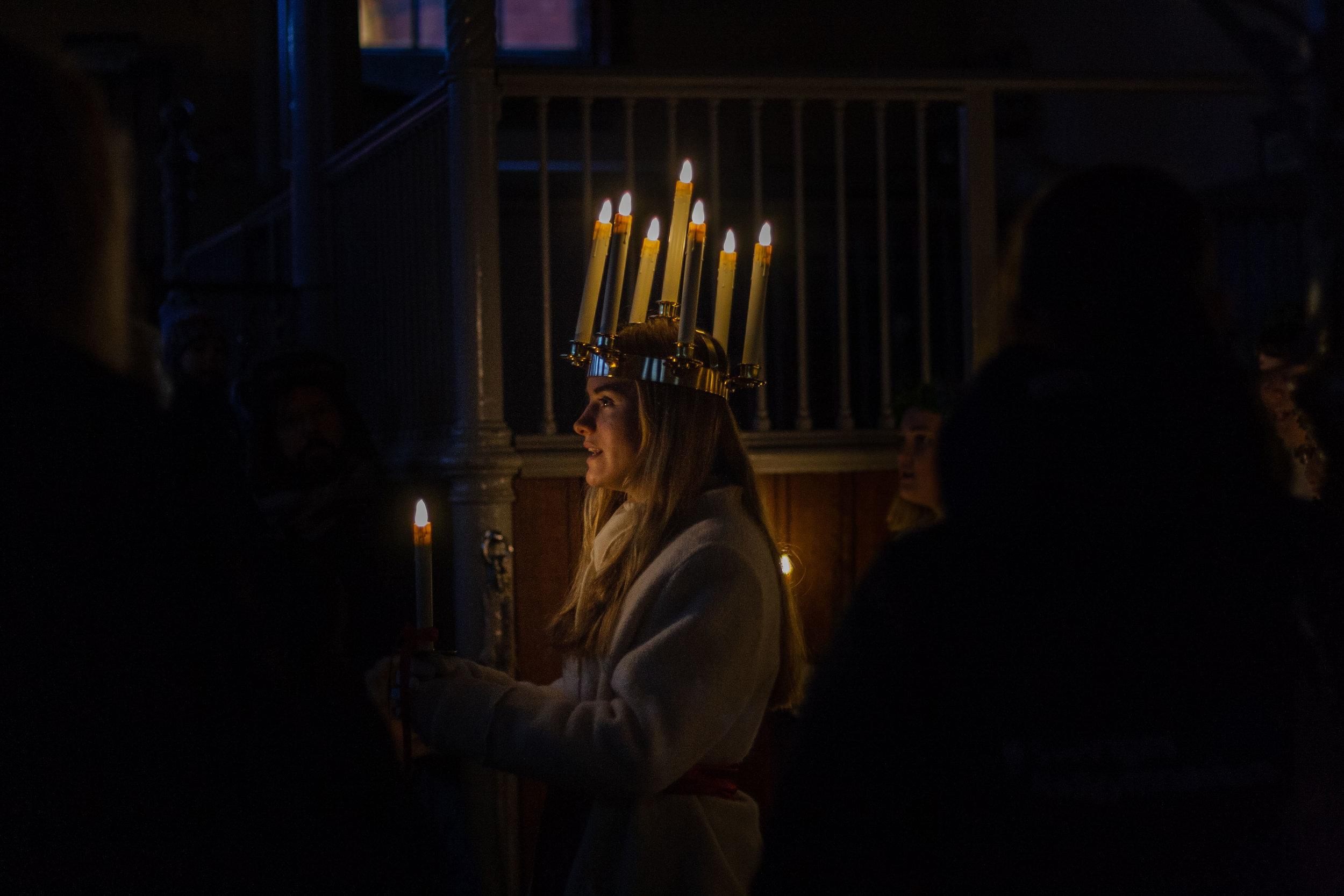 Lucia, Royal Stables Sweden. December 2016