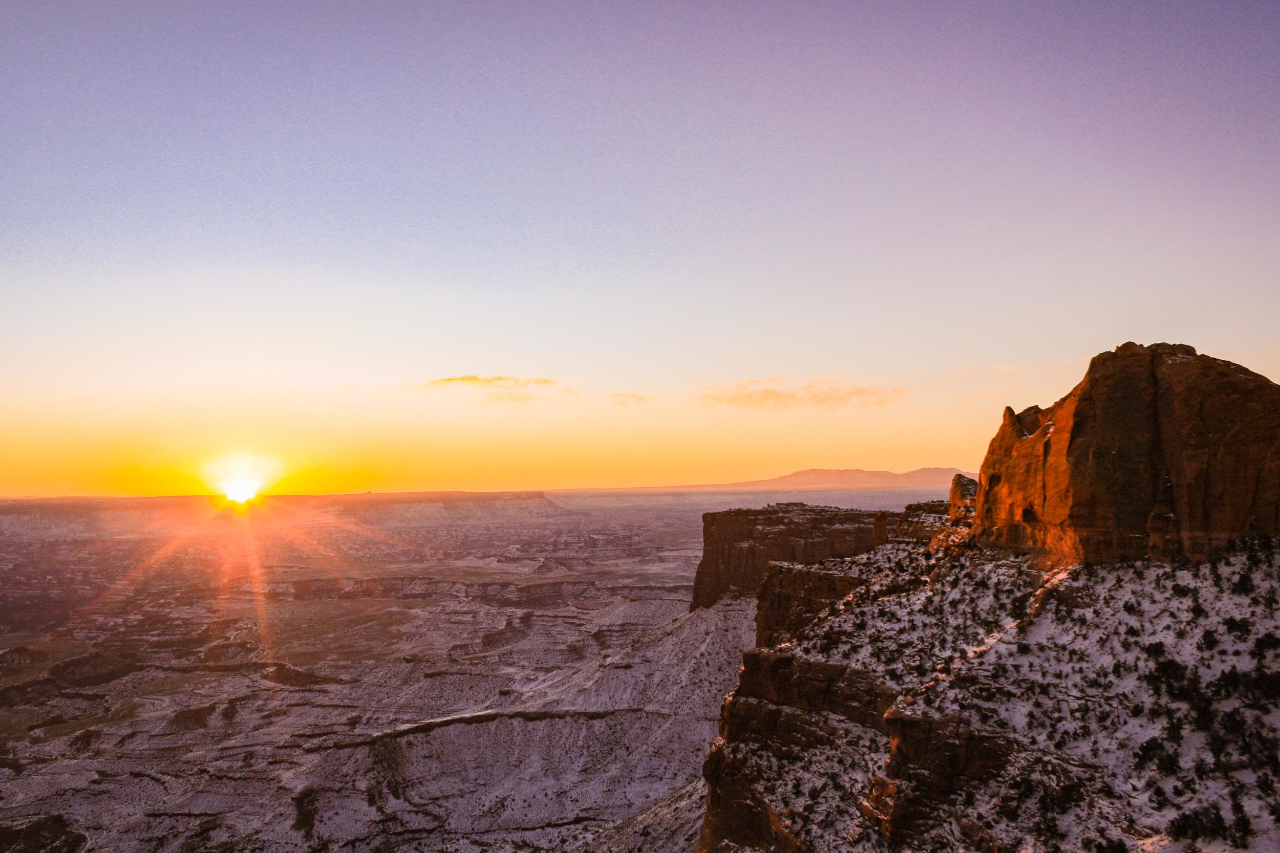 Island in the Sky, Canyonlands National Park. January 2013