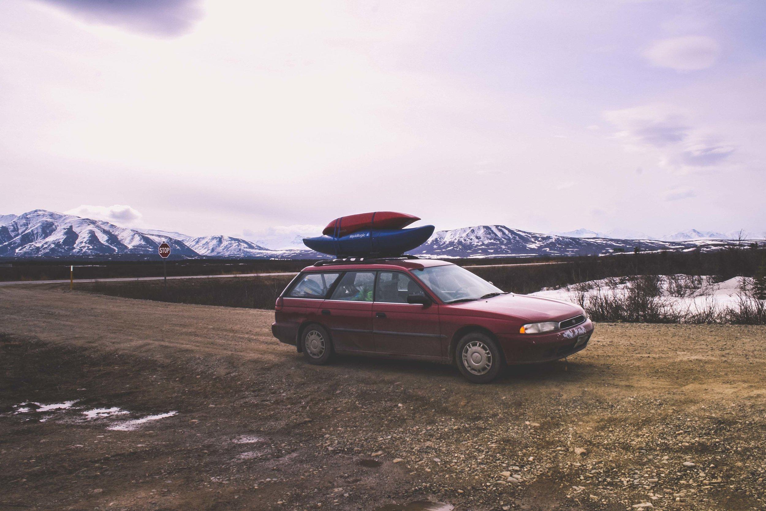 Delta, Alaska. Maj 2012