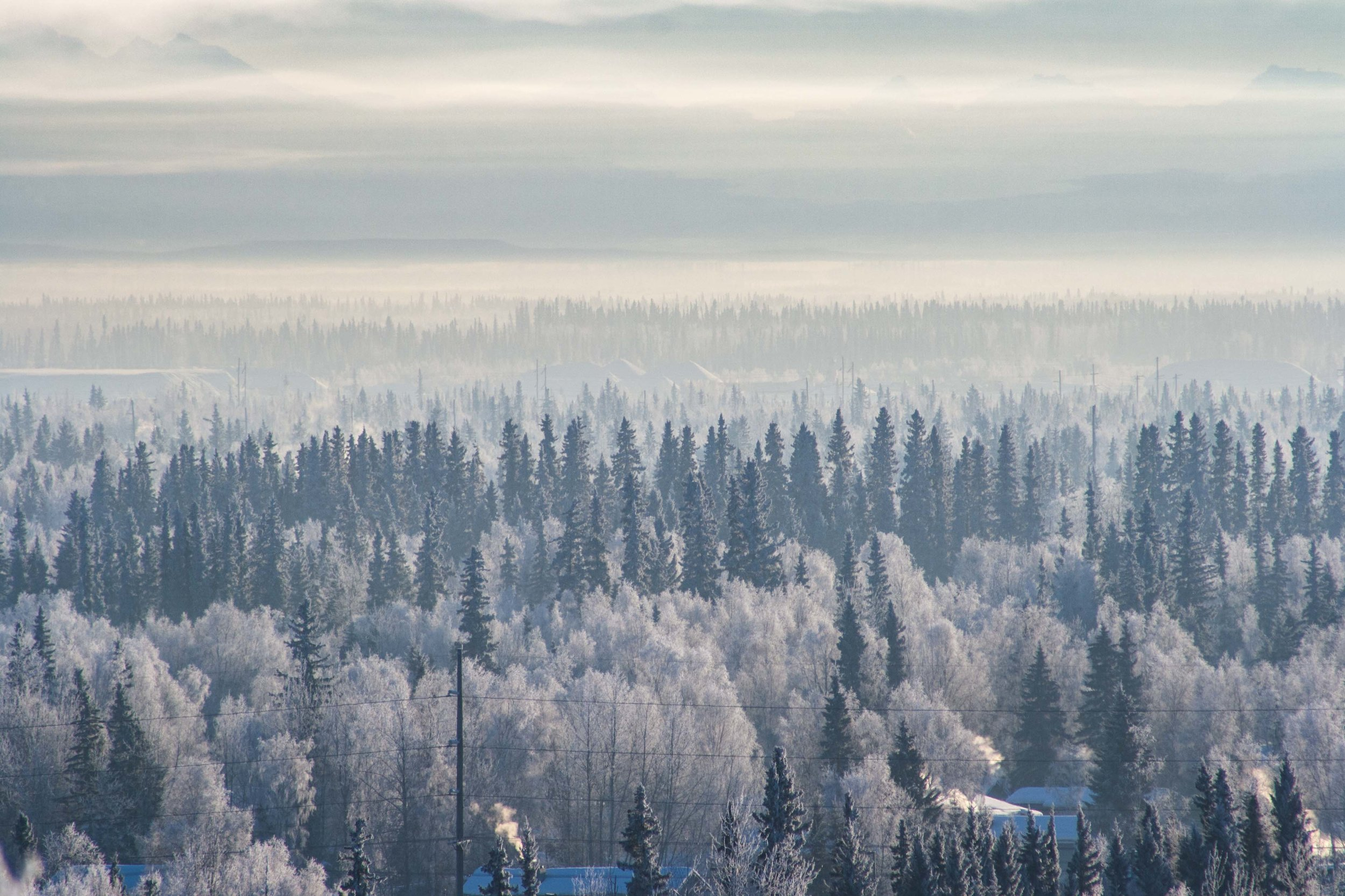 Fairbanks, Alaska. Januari 2014
