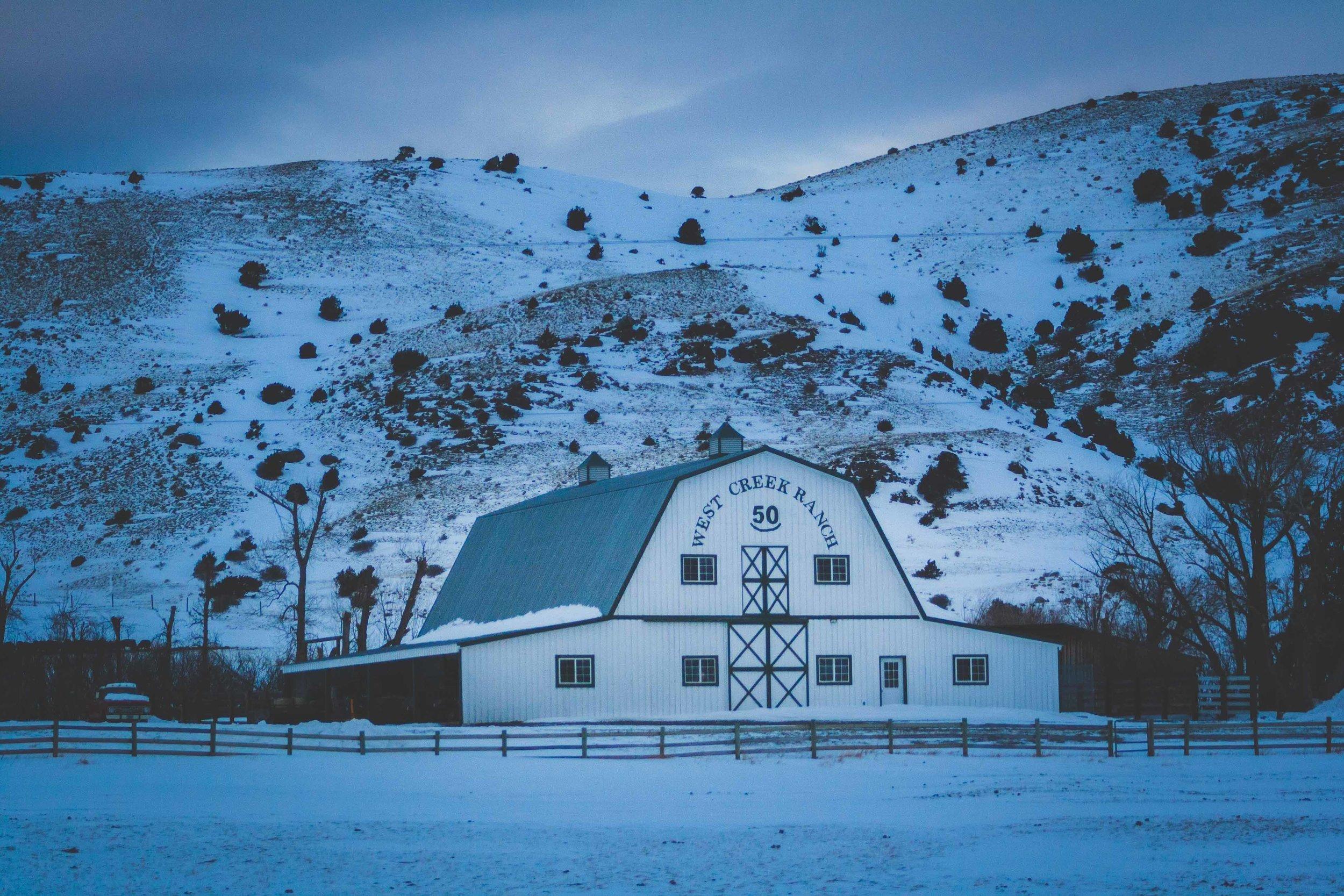 På Vägen, Montana. December 2016