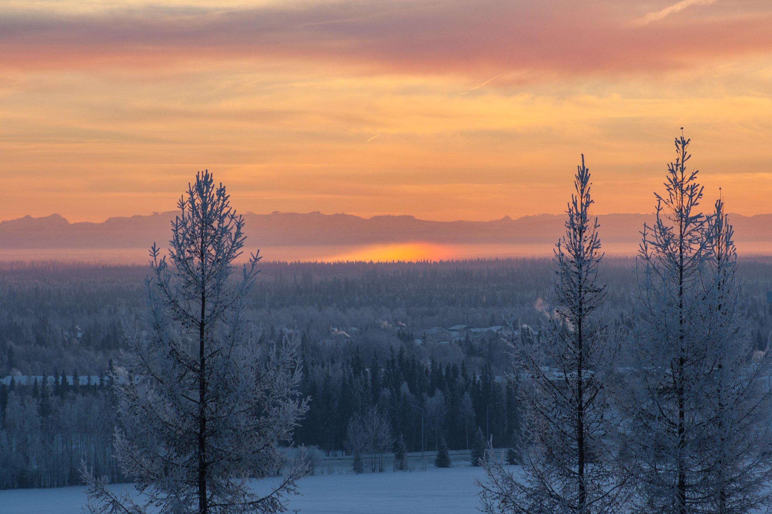 Fairbanks, Alaska. Januari 2014