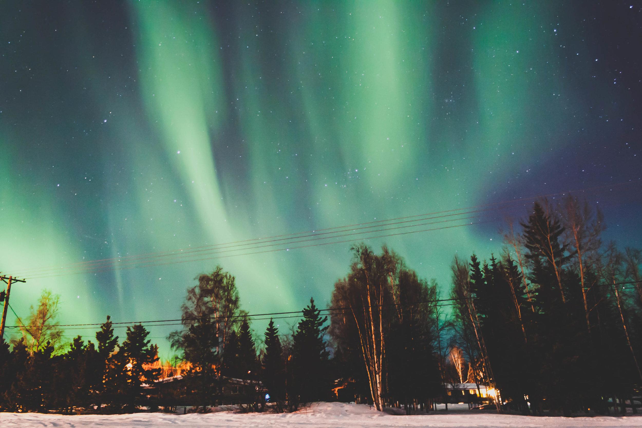 Fairbanks, Alaska. March 2014