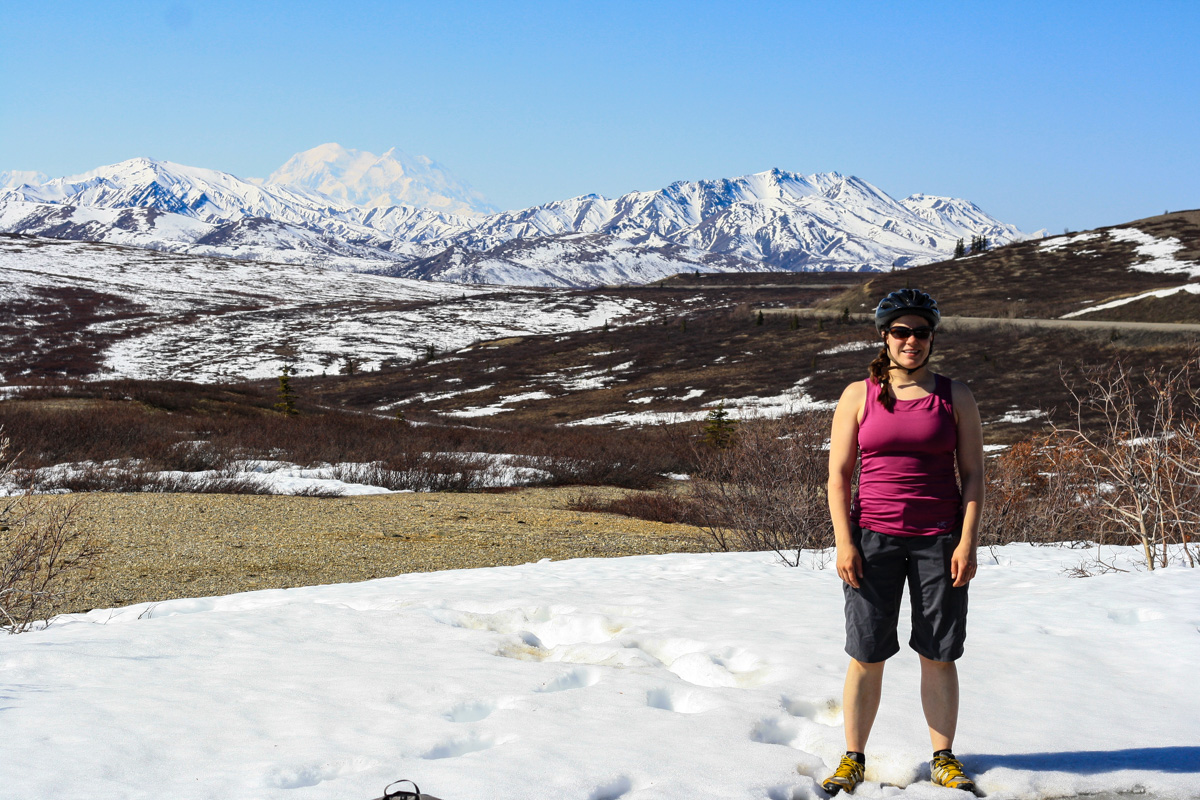 Biking in Denali