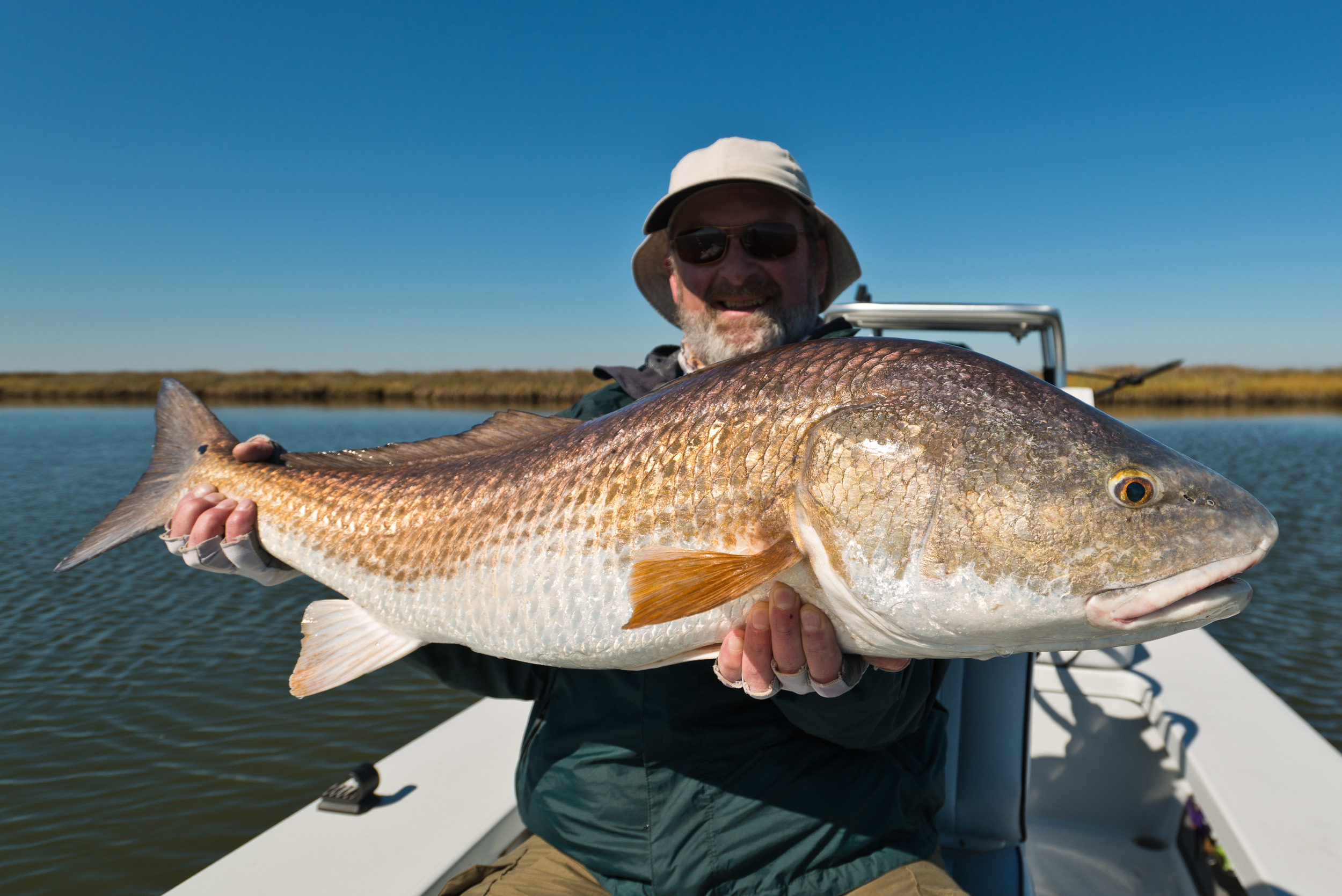 Fly Fishing Redfish New Orleans Louisiana Marsh 27
