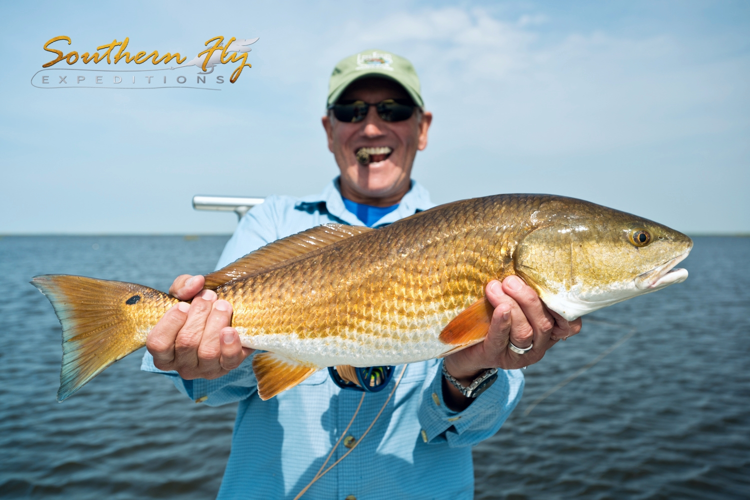 Fly-Fishing-redfish-new-orleans-louisiana-marsh
