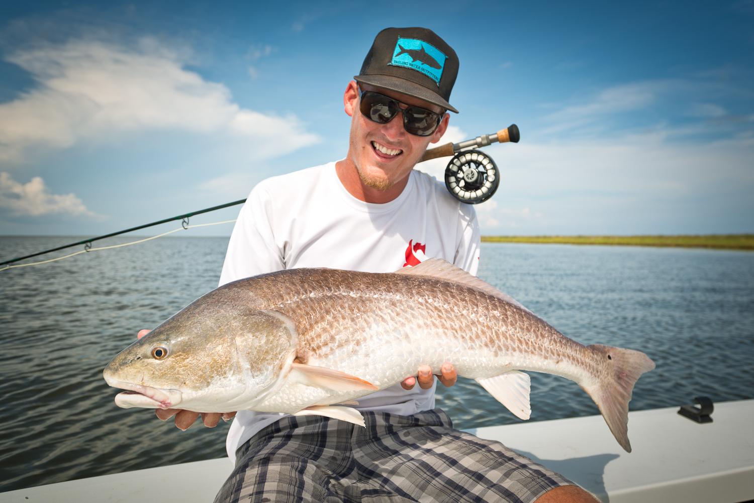 Fly Fishing New Orleans Louisiana Marsh Redfish Southern Fly Expeditions