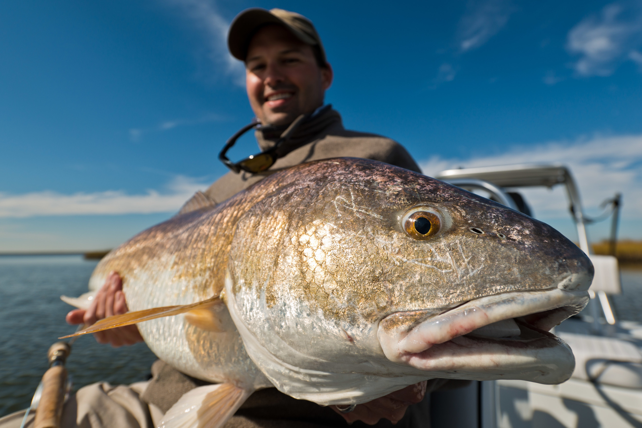 New Orleans Redfish Fly Fishing Charters with Southern Fly Expeditions