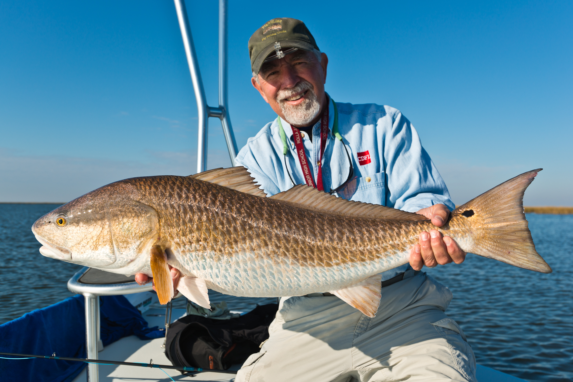 Fly Fishing for Redfish in New Orleans Louisiana