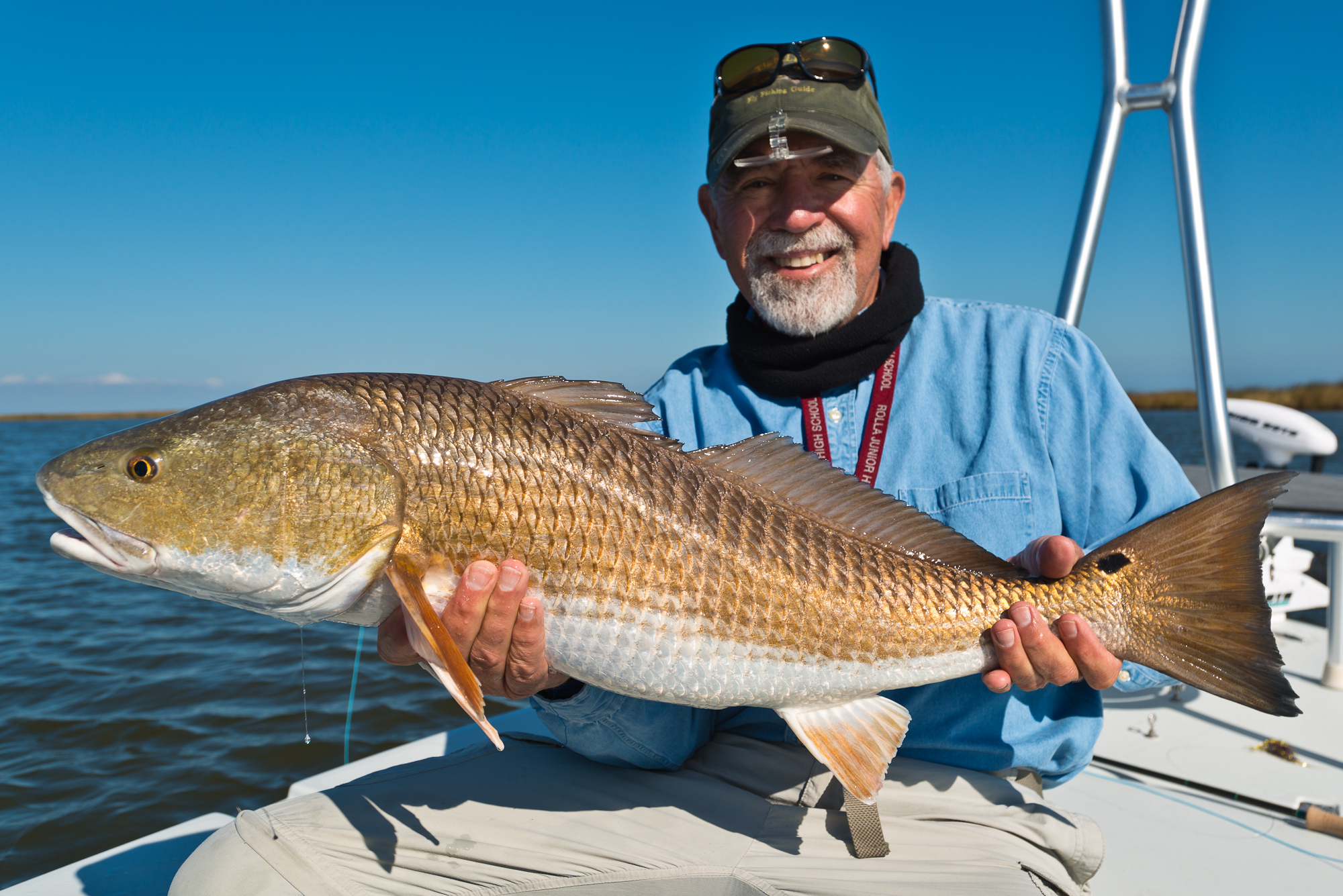Fly Fishing for Bull Reds with Southern Fly Expeditions of New Orleans