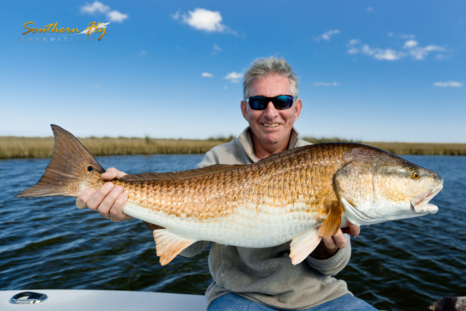 Sight Fishing for Redfish - Southern Fly Expeditions of New Orleans