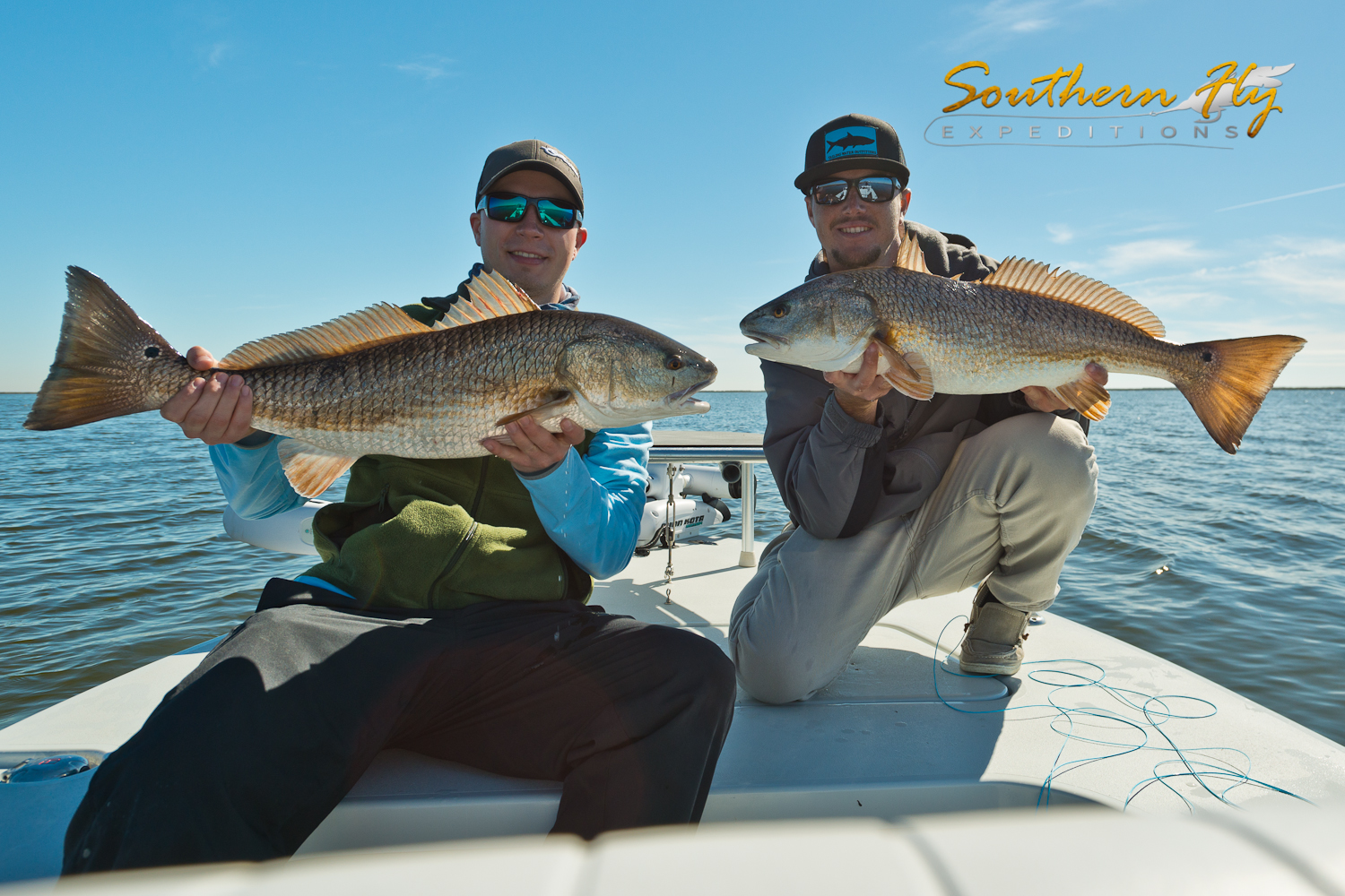 Fly Fishing for Redfish with Southern Fly Expeditions