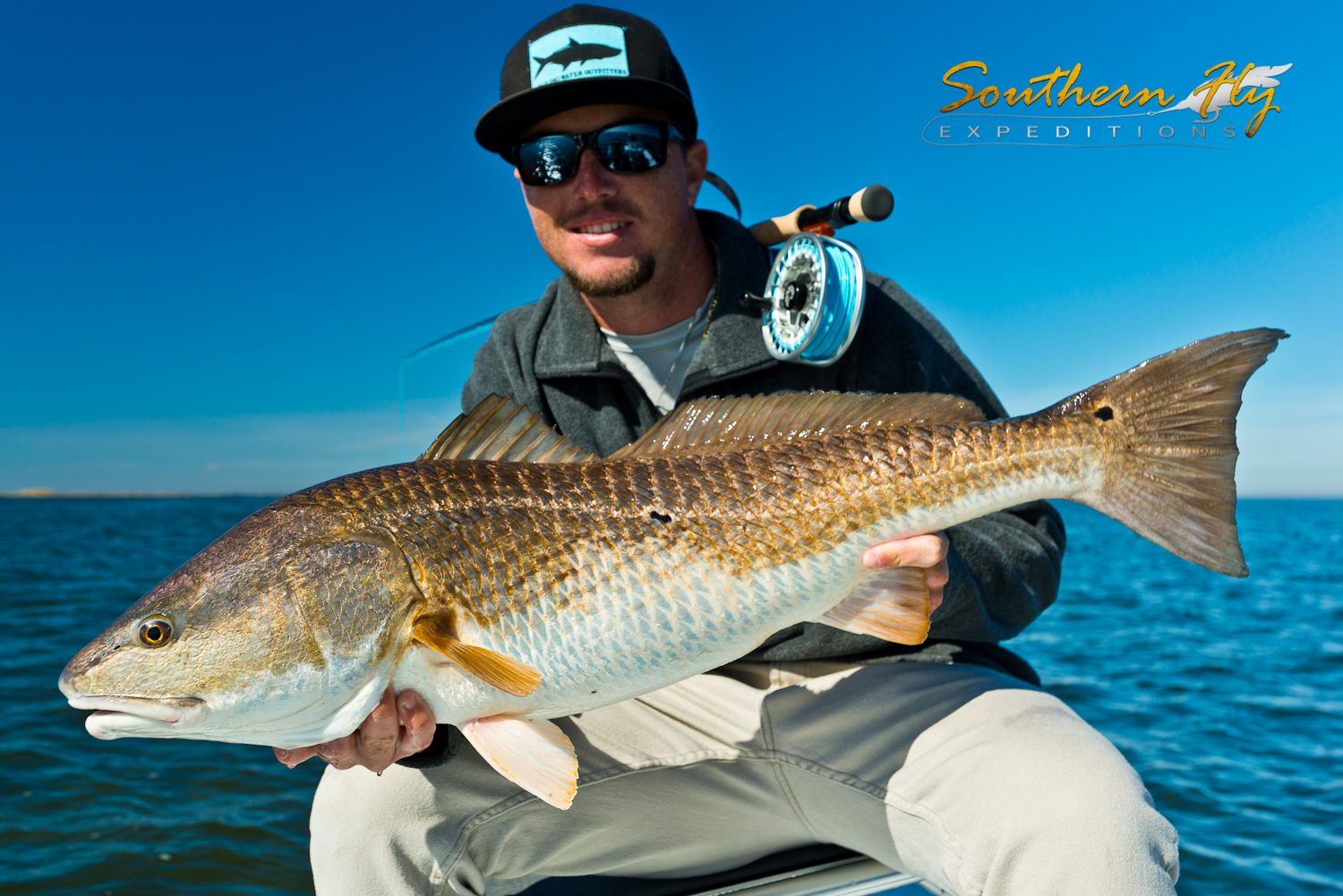 Catch Redfish with Southern Fly Expeditions - A New Orleans Fly Fishing Guide