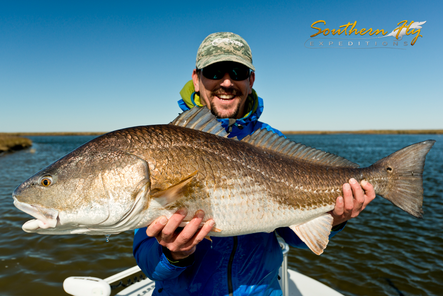 Fly Fishing New Orleans Louisiana with Captain Brandon Keck