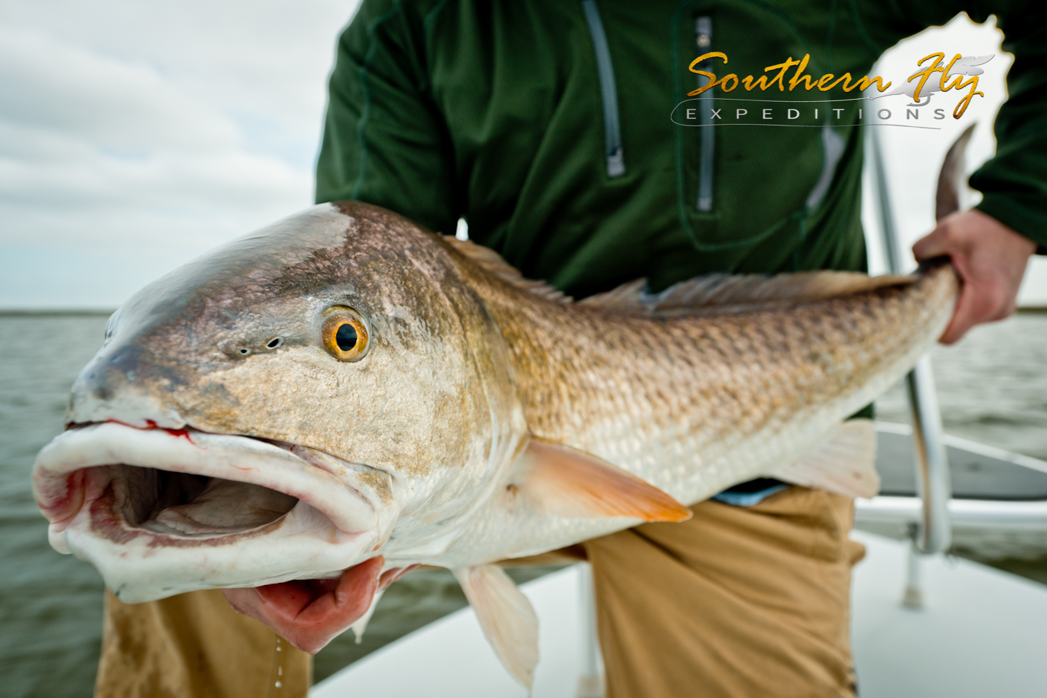 Fly Fishing for Redfish on the Coast of Louisiana with Southern Fly Expeditions