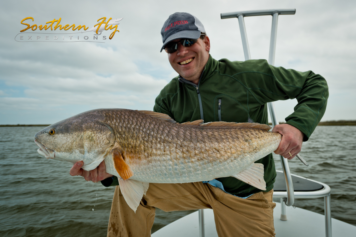 Fly Fishing New Orleans Louisiana with Capt. Brandon Keck