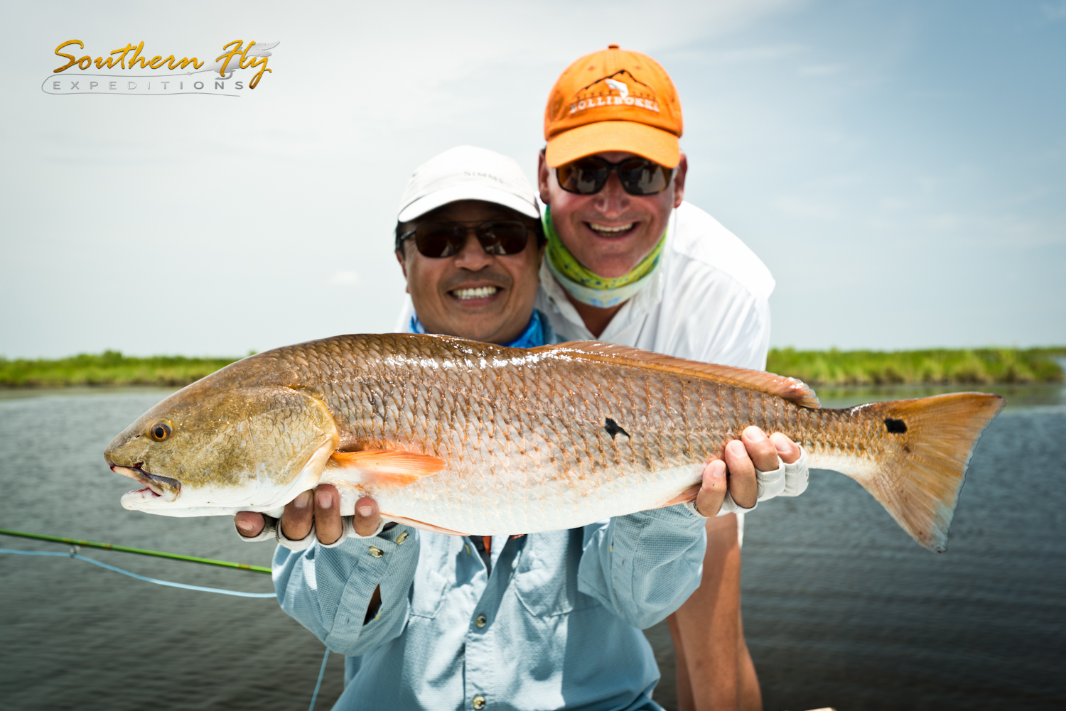 Fly Fishing for Redfish Photos from June 2015 with Southern Fly Expeditions
