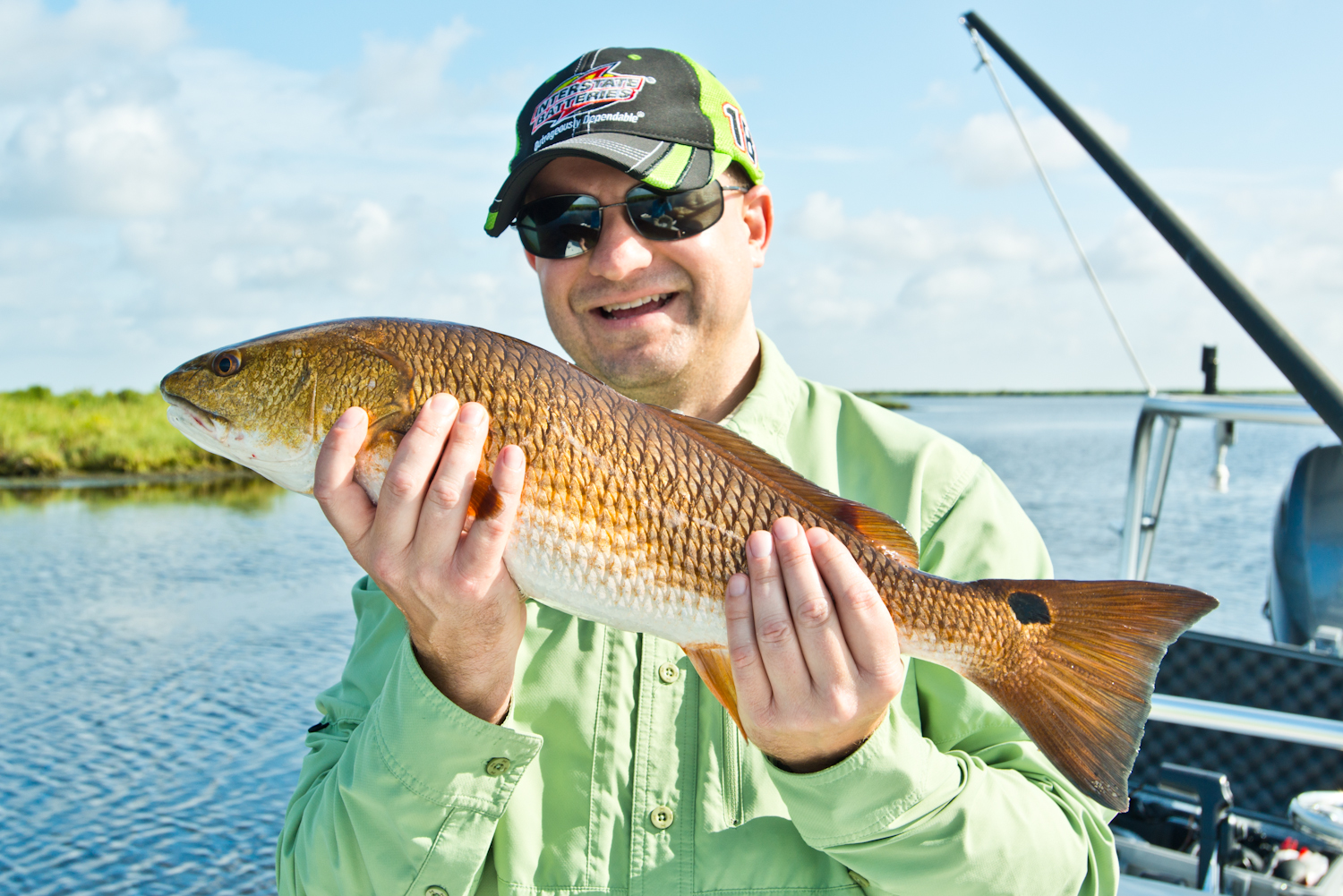 Young Redfish Photos June 2015 with Southern Fly Expeditions