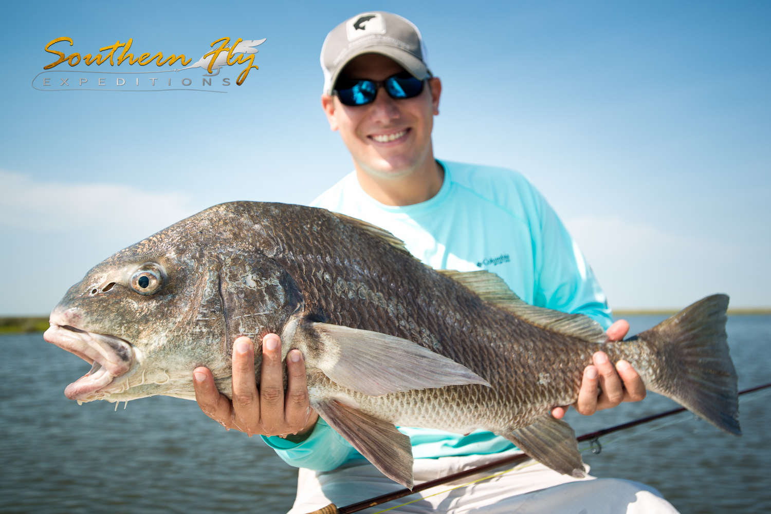 Fly Fishing for Black Drum with Southern Fly Expeditions