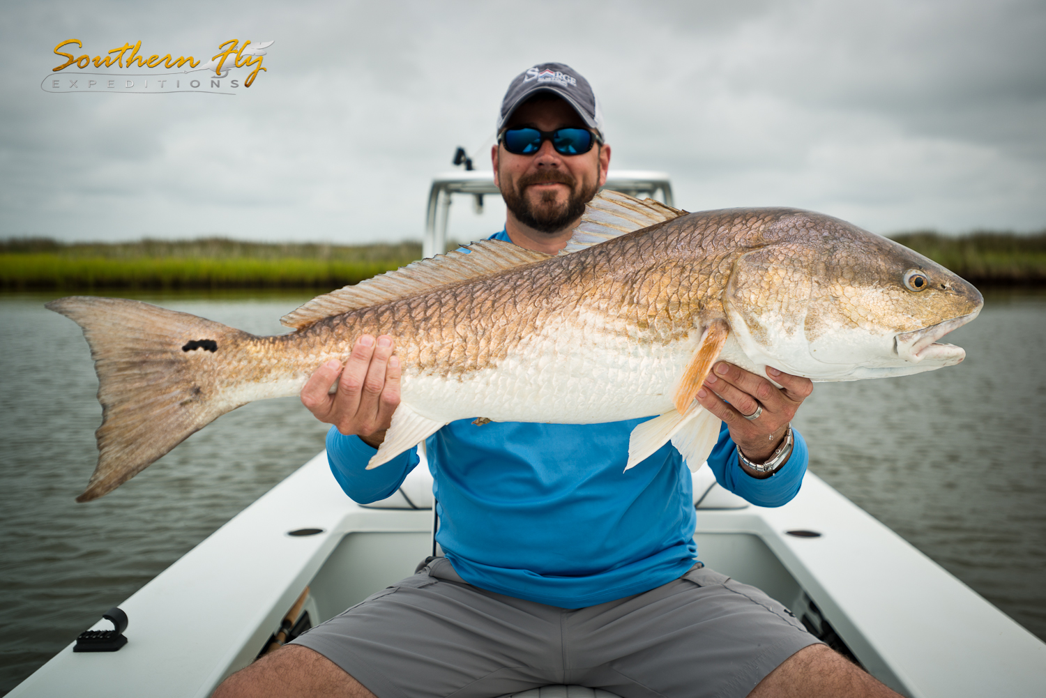 Catching Red fish Louisiana