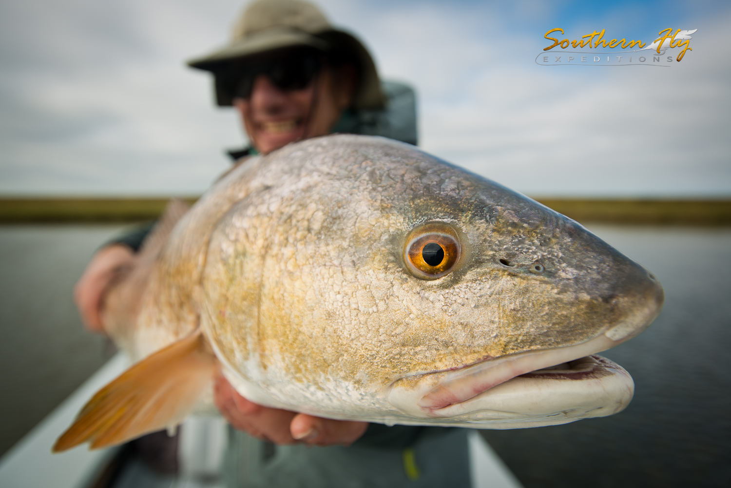 Louisiana Marsh Fly Fishing Red Drums
