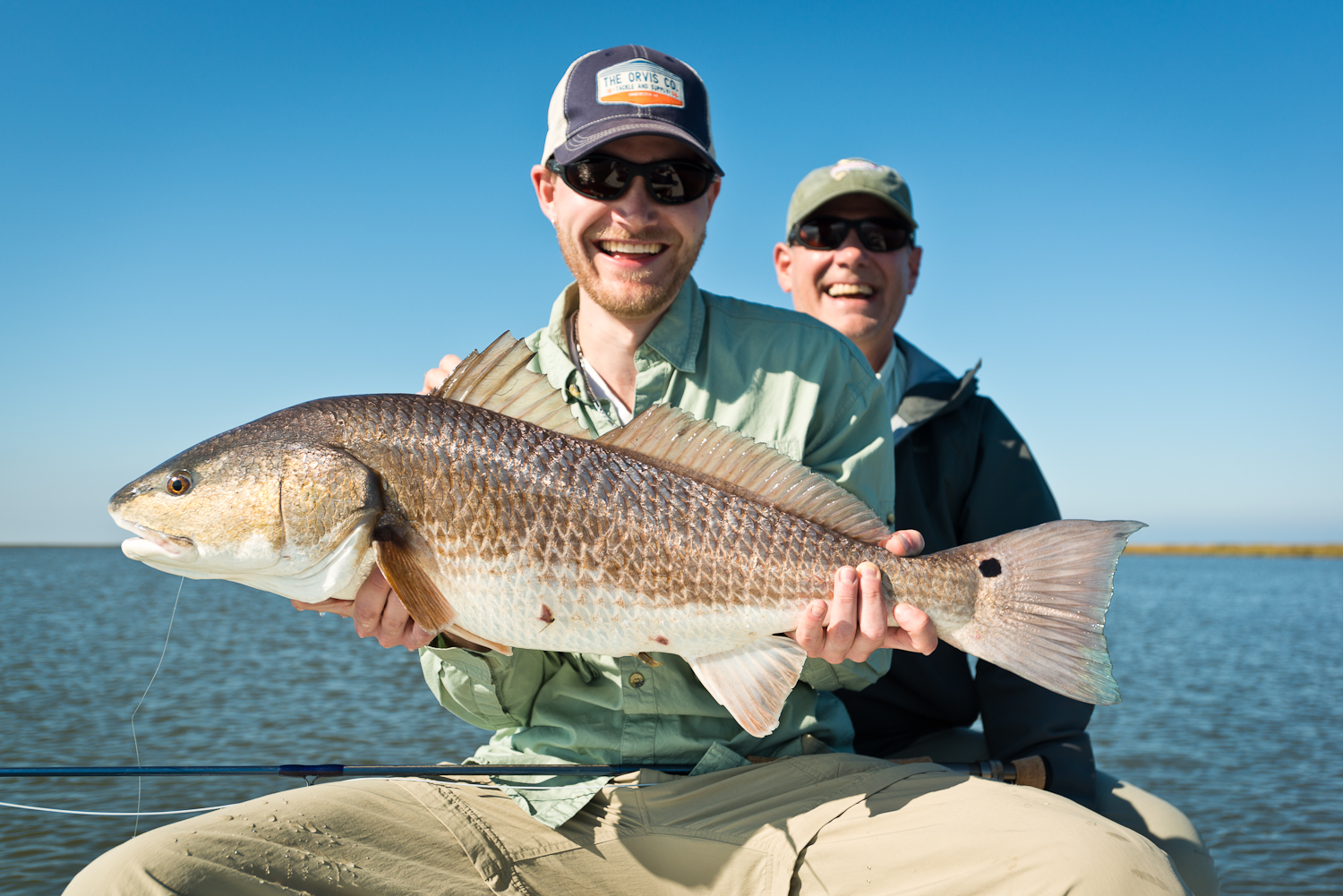 The Red Drum Fishing Trip New Orleans