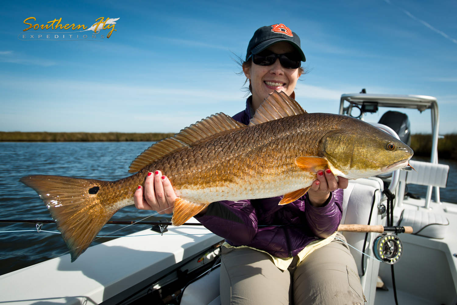 Ladies Fly Fishing Trips Southern Louisiana
