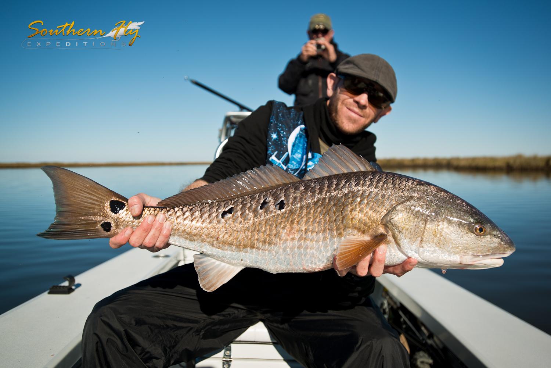 Best Redfish Spots Louisiana