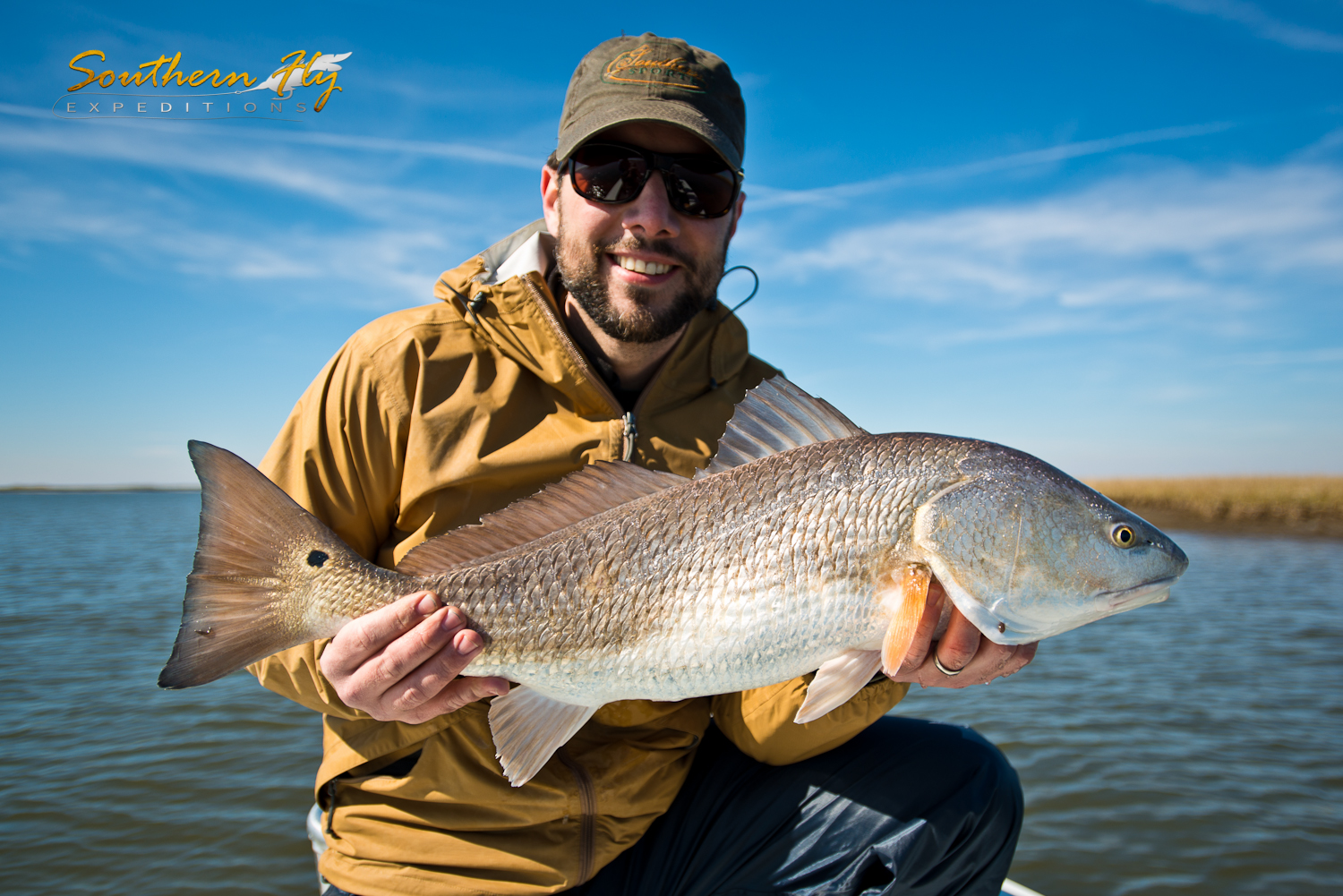 Small Redfish offer a Challenge